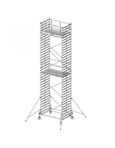 Krause Stabilo 500-as Sorozat 3,00x1,50 Munkamagasság: 10,40 m