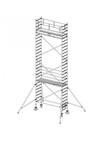 Krause Stabilo 1000-es Sorozat 3,00x0,75 Munkamagasság: 8,40 m