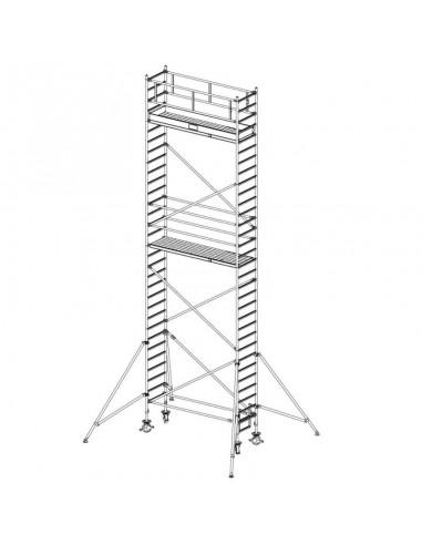 Krause Stabilo 1000-es Sorozat 3,00x0,75 Munkamagasság: 9,40 m