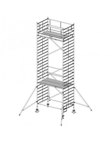 Krause Stabilo 5000-es Sorozat 3,00x1,50 Munkamagasság: 8,40 m