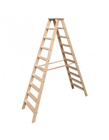 Krause Stabilo Lépcsőfokos Falétra 2X10 Fokos
