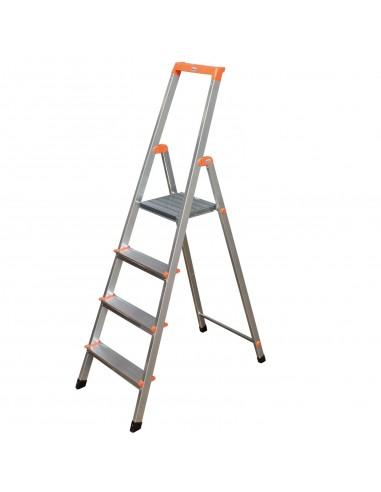 Krause Monto Solidy Lépcsőfokos Állólétra 4 Fokos