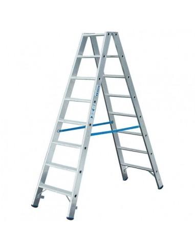 Krause Stabilo Két Oldalon Járható Lépcsőfokos Állólétra 2X8 Fokos