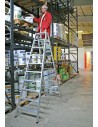 Krause Stabilo Két Oldalon Járható Lépcsőfokos Állólétra 2X12 Fokos