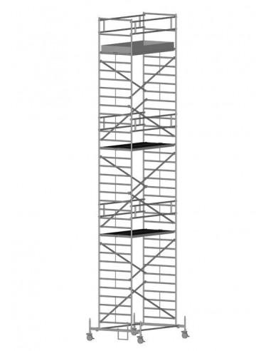 Zarges RollMaster 2T Gurulóállvány futóművel 1,2x2,5 Munkamagasság: 11,70 m