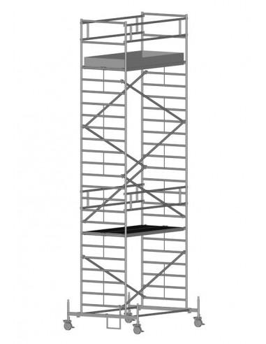 Zarges RollMaster 2T Gurulóállvány futóművel 1,2x2,5 Munkamagasság: 8,60 m